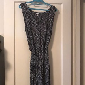 V neck sleeveless dress XXL